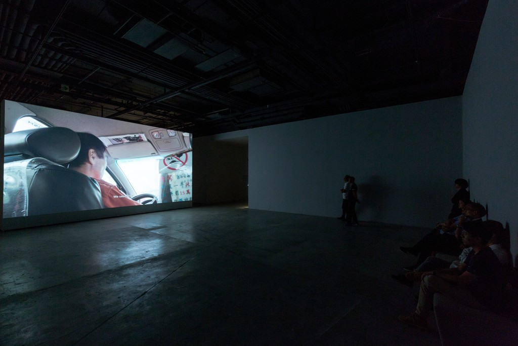 """Taxi, 2016. Color 4K UHD video, with sound, 79'32""""  """"This video was produced on the occasion of the exhibition Tales of Our Time, presented at the Solomon R. Guggenheim Museum, New York, and made possible by The Robert H. N. Ho Family Foundation."""""""