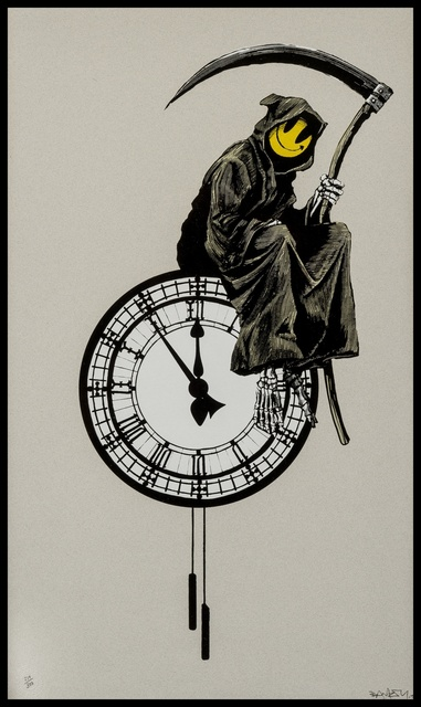 Banksy, 'Grin Reaper', 2005, Forum Auctions