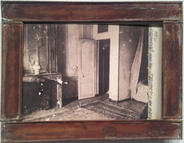 ", 'Unrestored Bedroom of Madame de Pompadour, from ""Unseen Versailles"",' 1980, Staley-Wise Gallery"