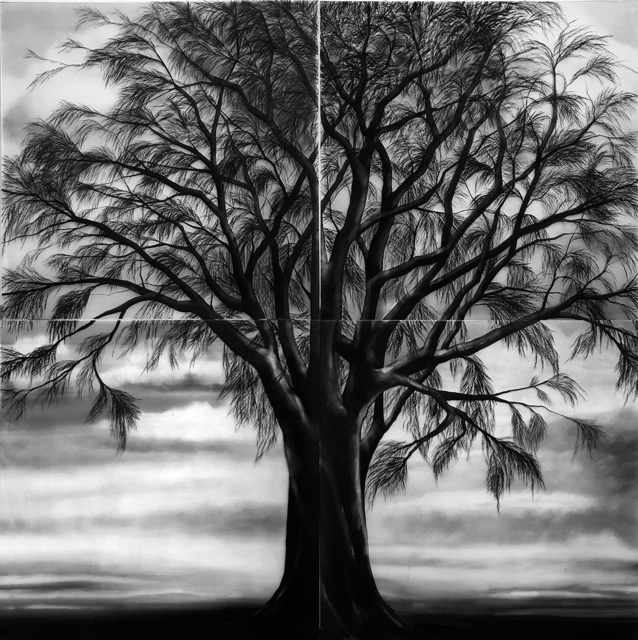 Claudia Melli, 'sem título (série a capela)', 2, Drawing, Collage or other Work on Paper, Nanquim sobre vidro, Anita Schwartz Galeria de Arte