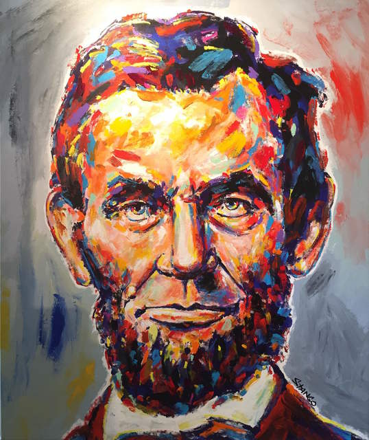 , 'Presidential Portrait: Lincoln ,' 2016, Artist's Proof