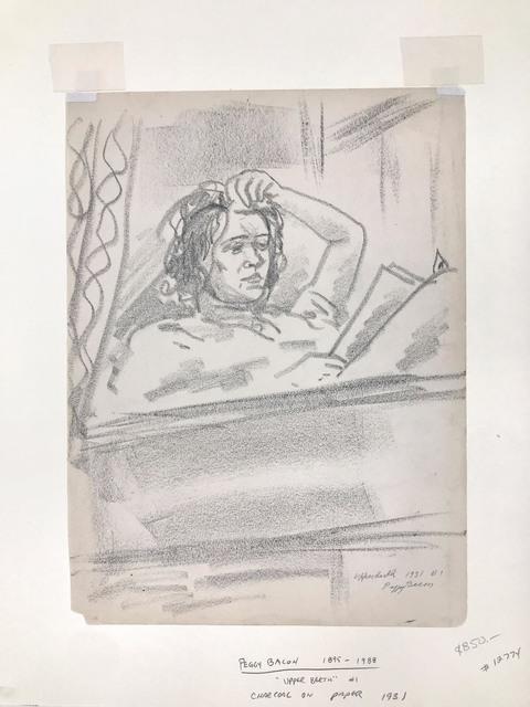 Peggy Bacon, 'Upper Berth', 1931, Doyle