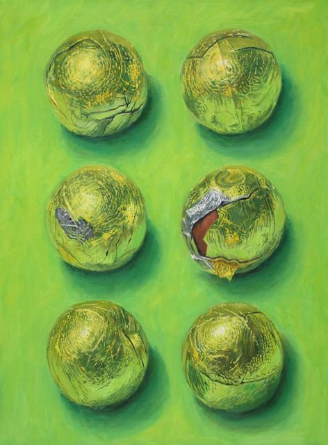 , 'Green and Gold,' 2017, Tabla Rasa Gallery