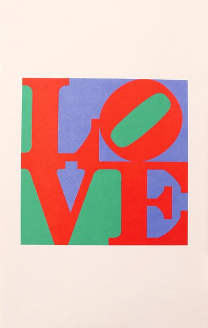 Robert Indiana, 'The Philadelphia LOVE', 1975, Woodward Gallery