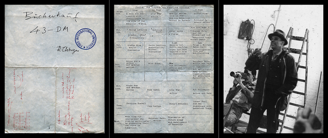 , 'Work # 971-(02): Dossier # 02 (Violence and Behaviour Workshop, Documenta VI)  (triptych),' 2016, Robert Kananaj Gallery