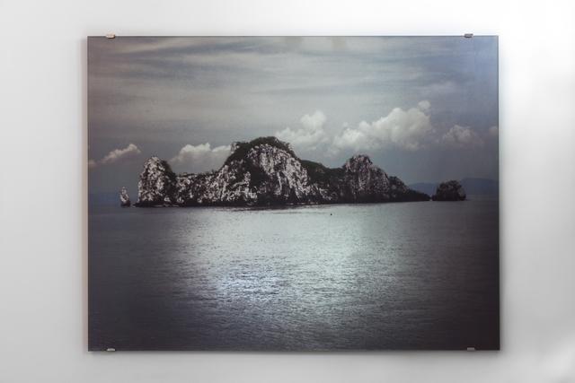 , 'Les Miroirs éblouis - l'île,' 2014, Galerie Christophe Gaillard