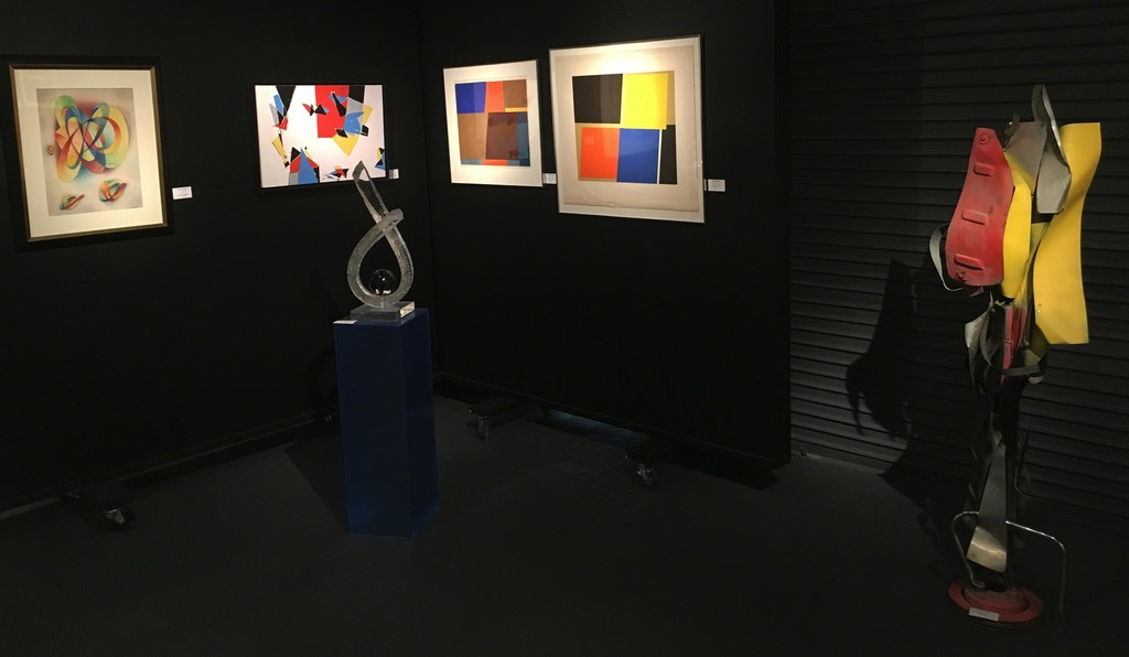 Back gallery installation (from left):