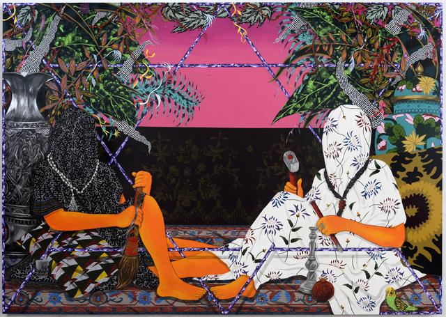 , 'A Path Set in Stone,' 2017, Shulamit Nazarian