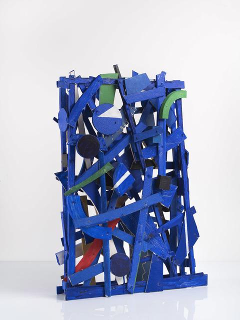 , 'Projet bleu,' 2017, Galerie Lelong & Co.