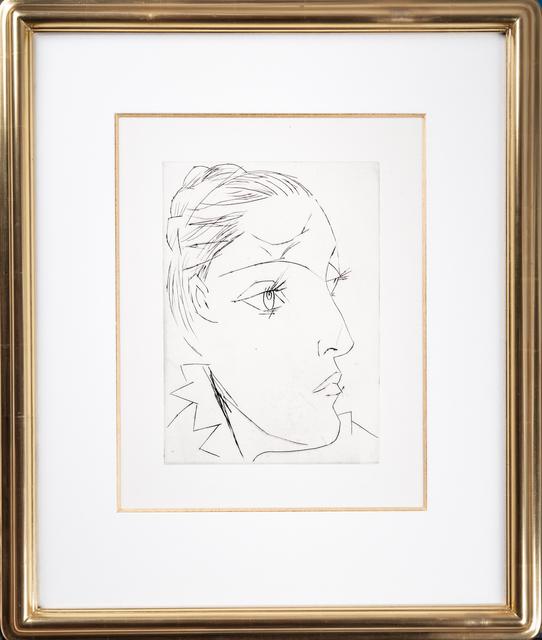 Pablo Picasso, 'Portrait of Dora Maar Au Chignon', 1961, Odon Wagner Gallery