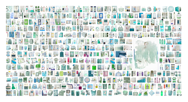 , 'Googlize my work from color polaroïd of Stella,' 2014, Marie Salomé Peyronnel