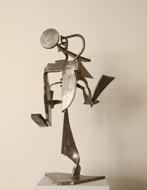 Mark di Suvero, 'Potluck I', 2004, Sculpture, Stainless steel, Tasende Gallery