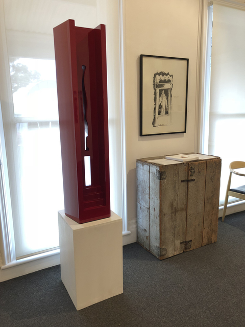 , 'Door and Column,' 1980-1982, Charles Nodrum Gallery