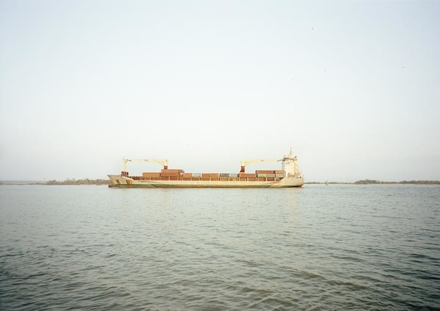 Victoria Sambunaris, 'Untitled (Cargo, UAL Angola, Isle of Man), Houston Ship Channel, Texas', 2016, Yancey Richardson Gallery