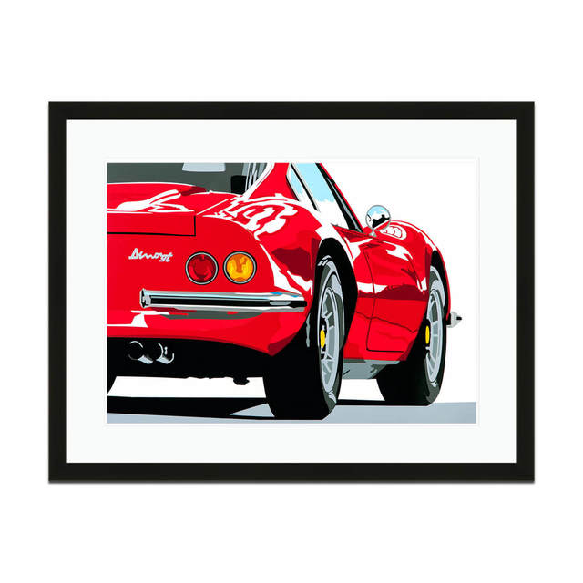 , 'Speed Icons Ferrari Dino 246GT | Automotive | Car,' 2013-2015, Whyte Fine Art