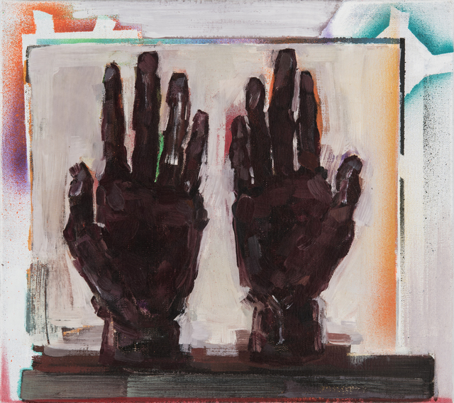 , 'Painted hands/Hands of painting,' 2018, The Rooster Gallery