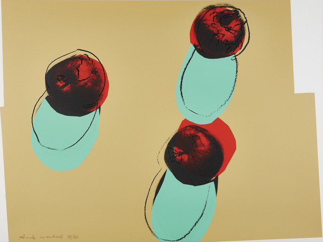 Andy Warhol, 'Apples, from Space Fruit: Still Lifes', 1979, Phillips