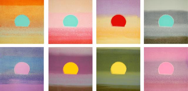 Andy Warhol, 'Set of 8 Unique Sunsets', 1972, Joseph K. Levene Fine Art, Ltd.