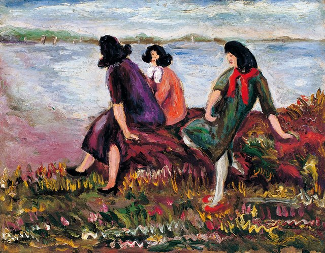 , 'Three Beauties by the Sea,' , Liang Gallery