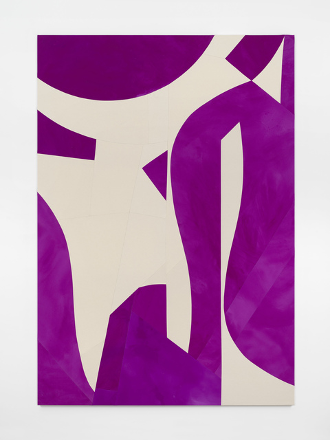 Sarah Crowner, 'Standing and Hanging Forms, Violet', 2019, Casey Kaplan