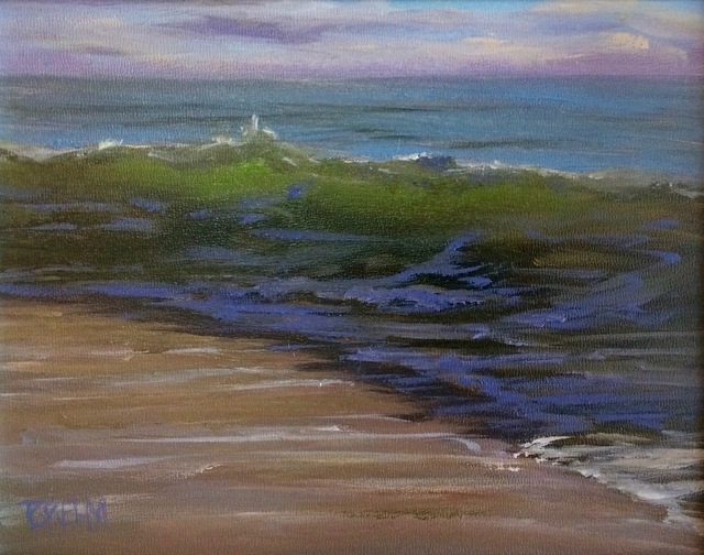 , 'Waves From a Passing Storm,' , Peninsula Gallery