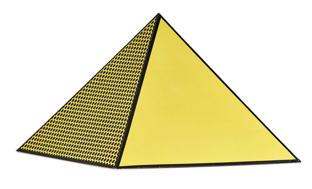 Roy Lichtenstein, 'Pyramid', 1968, Other, 3D cardboard multiple with screenprint in colors on lightweight board, Rago/Wright