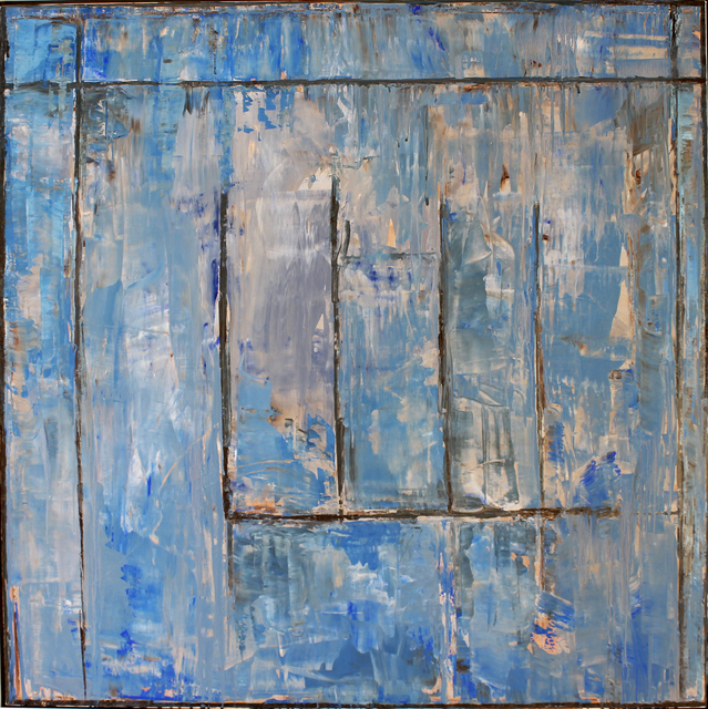 , 'Wall Street #1 - Blue Azul,' , Studio 21 Fine Art
