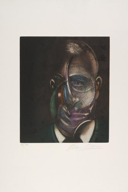 Francis Bacon, 'Portrait of Michel Leiris, from Requiem pour la Fin des Temps', 1976, Il Ponte