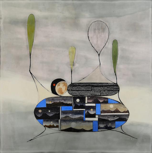 , 'The Super Earth Dilemma 48:1,' 2018, Hosfelt Gallery