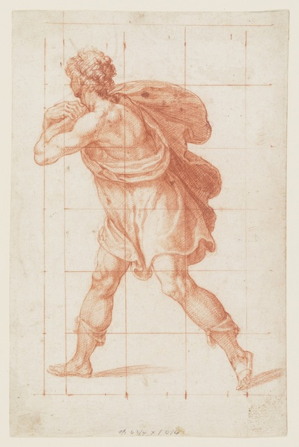 , 'Man in Classical Costume,' Late 16th c., Bowdoin College Museum of Art
