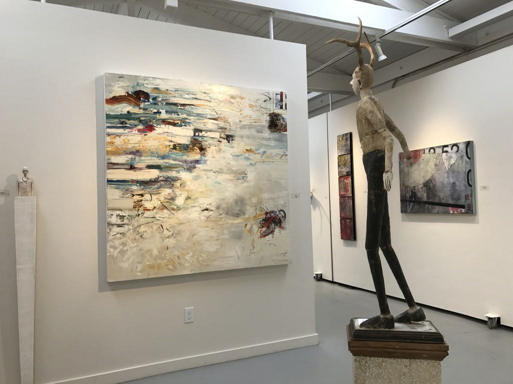 Joe Brubaker, Chris Hayman, Cathy Rose, & Claudia Marseille in Gallery II