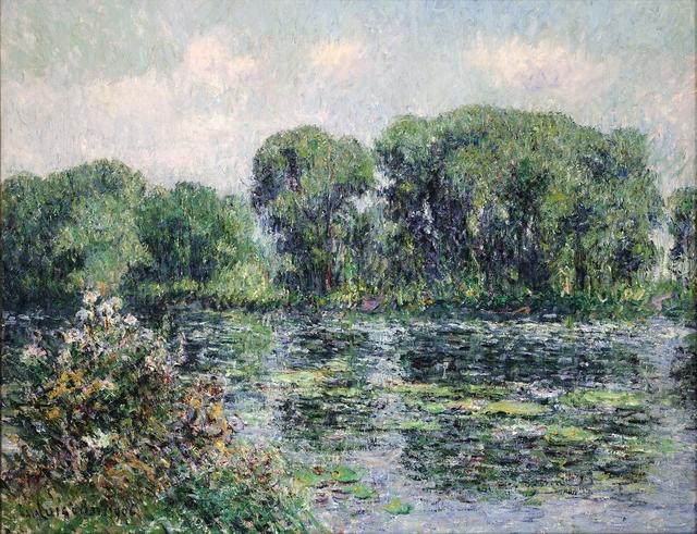 , 'La Seine à Herblay,' 1906, Trinity House Paintings