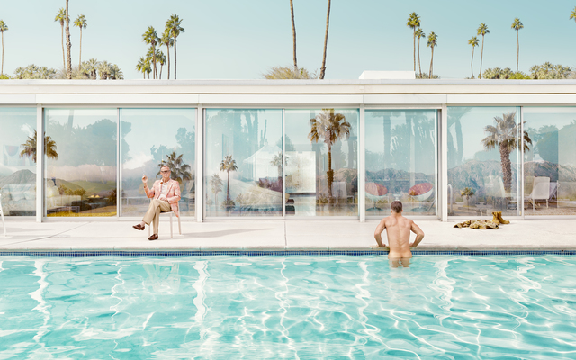 , 'Palm Springs II,' 2015, Roman Fine Art