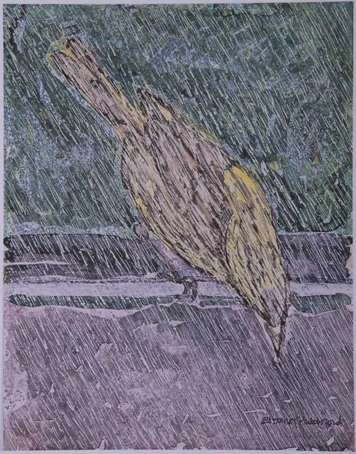 Eleanor Hubbard, 'Very Wet Yellow Warbler', 2008, Walter Wickiser Gallery