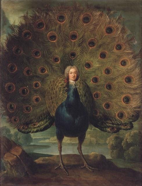 , 'Louis-Antoine de Gontaut, duc de Biron, en paon,' 18, RMN Grand Palais