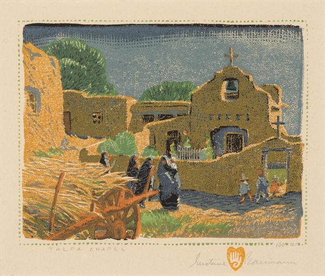 , 'Talpa Chapel,' 1920, Aaron Payne Fine Art
