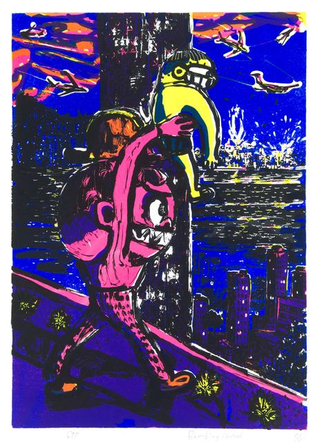 , 'Bombing of Central,' 2015, Hong Kong Open Printshop