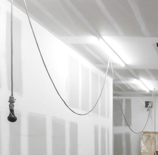 , 'Black and Gray Lightbulb,' 2017, Marc Straus