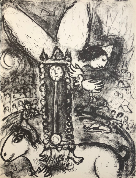 Marc Chagall, 'Le Cirque M. 514', 1967, Print, Original Lithograph on Velin d'Arches Wove Paper, Galerie d'Orsay