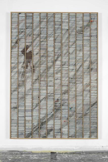 Gregor Hildebrandt, 'KS-Painting mit Marmorierung', 2009, Almine Rech