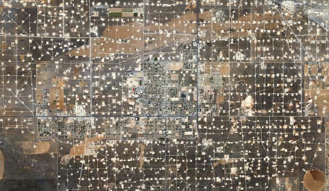 , 'Wasson Oil Field, Yoakum County, Texas (from Oil Fields),' 2013, Bruce Silverstein Gallery