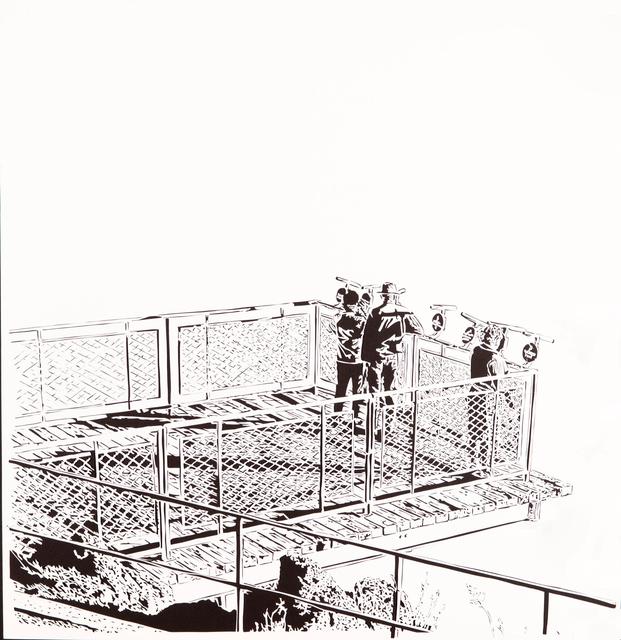 , 'Lookout 7, 1970,' 2016, Davidson