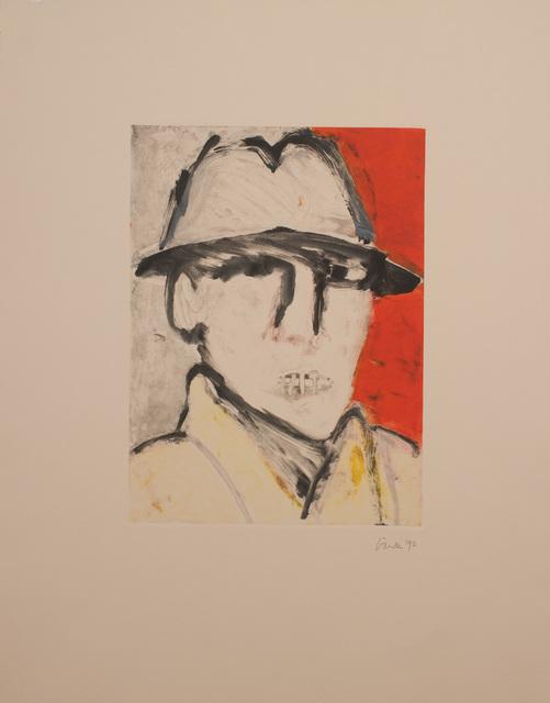 , 'Man in Hat,' 1992, ArtSuite New York