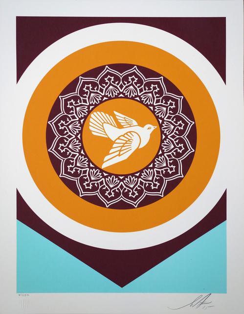 Shepard Fairey, 'Peace Dove serie 1', 2018, Print, Speckletone paper, AYNAC Gallery