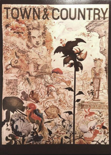 , 'Autumno- Original Painting,' 1946, Robin Rile Fine Art