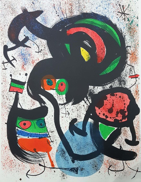 Joan Miró, 'Lithograph #1510, M-662 'The Seers II' ', 1970, Baterbys
