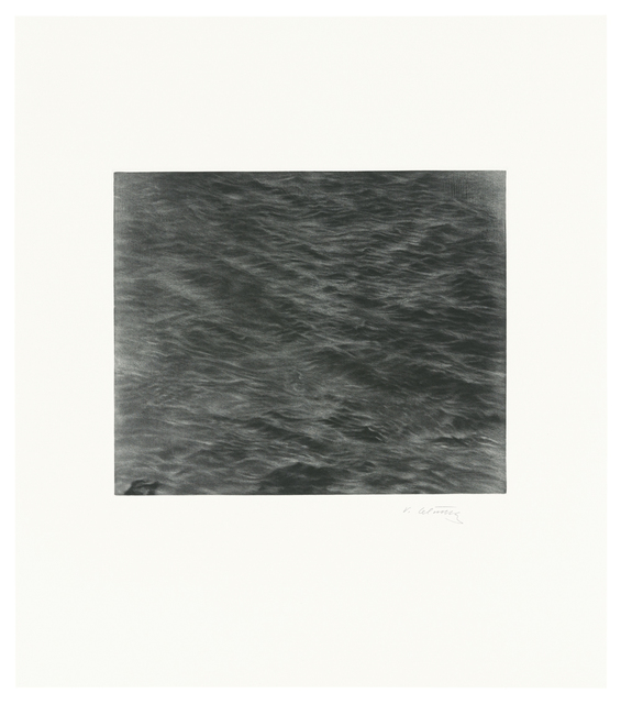 , 'Untitled (Ocean Mezzotint),' 2016, Senior & Shopmaker Gallery