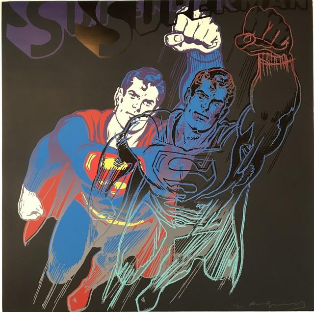 Andy Warhol, 'Superman', 1981, michael lisi / contemporary art