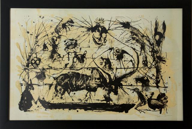Guillermo Olguin, 'Toro y cuervos', 2018, Flux//Zone