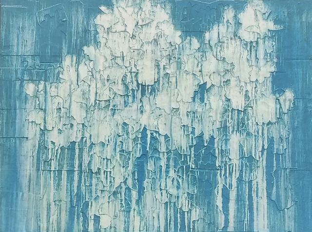 , 'Human Ecology - Blue,' 2017, Elisa Contemporary